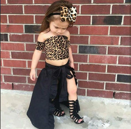 Wholesale Tail Skirts - Ins 2017 Infant Baby Girls Denim Skirts Girls Striped Denim Swallow Tail Skirt Babies Fashion Clothing