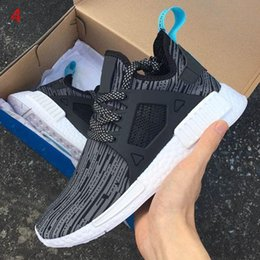 Wholesale Paper Back Drop - [with Box]New NMD XR1 Boost Duck Camo Navy White Army Green for Top quality MND Men Women Kids Casual Shoes Drop Free Shipping 36-45