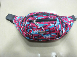 Wholesale Cavas Bags - New Pattern Outdoor Cavas Camouflage Bags Driving Cyclling Travelling Waist Bags Fashion Durable Colorful Quality Assurance