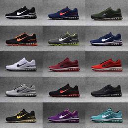 Wholesale Cheap Gingham - New 2017 Wholesale maxes 360 Running Shoes Women Cheap maxes Sneakers Hot Sale Walking Boots Weaving Men Sport Shoe Drop Shipping size:36-47
