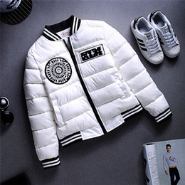 Wholesale Korea Winter Woman Jacket - Wholesale- 2016 New winter jacket women Korea fashion uniform warm jackets winter coat women cotton female parkas Women's winter jacket