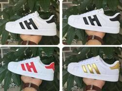 Wholesale Female Sneakers - 17 Hot Sale Fashion Men Casual Shoes Superstar Female Sneakers Women Zapatillas Deportivas Mujer Lovers Sapatos Femininos