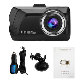 Wholesale Usb Camera Microphone - Vehicle Black Box Car DVR Full HD CAMERA Digital Recorder 3.0 Inch IPS Panel 1080P With G-SENSOR USB Dash Cam Dashcam PZ902A