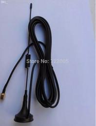 bar anti statico Sconti All'ingrosso-Spedizione gratuita (10 pezzi / lotto) Antenna GSM 900-1800 Mhz 5dbi SMA spina maschio dritto con base magnetica
