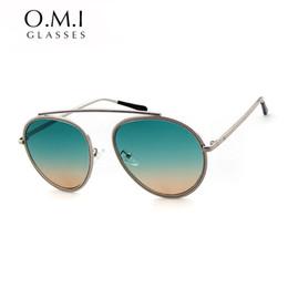 Wholesale High Quality Aviator Glasses - 2017 High Quality Fashion Oversized Sunglasses Aviator Sunglasses Men Women Big Catwalk Sunglasses Clear Sun Glasses Brand Designer Eyewear