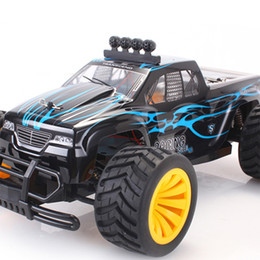 Wholesale Rc 16 - Wholesale- 1 16 Monster RC Car Radio Control Racing Car 15KM H Off-road 4CH 2.4G 4WD RC Racing Car Vehicle Toys BG15 05 04 03 02 Vs BG1511