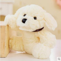 Wholesale Lying Dog Toys - Wholesale- 20cm Cute Stuffed Xiang Xiang Dog Toy Doll Soft Animal Lying Dog Plush Toy Children's Day Gift