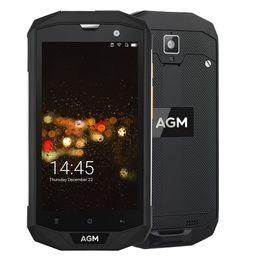 "Wholesale Dual Camera A8 - AGM A8 4G FDD-LTE Rugged Mobile Phone 5.0"" 1280*720FHD 4GB RAM 64GB ROM Qualcomm MSM8916 Quad Core 13.0MP 4050mAh NFC OTG"