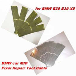 Wholesale Bmw X5 Display - For BMW E38 E39 X5 Multi information display Ribbon BMW car MID Pixel Repair Tool Cable free shipping 30pcs lot
