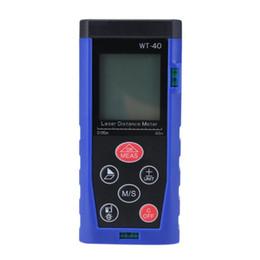 Wholesale Distance Measure Range Finder - 2017 High Quality 40M Mini Digital Handhold Portable Laser Distance Meter Range Finder Measure hot