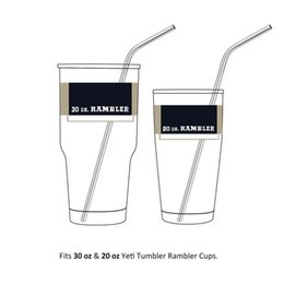Wholesale Stainless Steel Long Spoon - Stainless Steel Straws Durable Reusable Metal 10.5inch Extra Long Bend Drinking Straws for 20 & 30OZ Tervis Cups