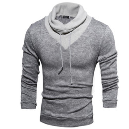 Wholesale Turtleneck Sweaters Sale - Hot sale 1pcs New fashion mens sweaters man pullover turtleneck sweater apparel Men's Clothing Free Shipping