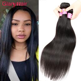 vrais cheveux indiens brésiliens Promotion Vraie Qualité 100g Pas Cher Brésiliens Cheveux Bundles Vierge Brésilienne Droite Extensions de Cheveux Humains Péruvienne Malaisienne Indien Tressage Humain Cheveux
