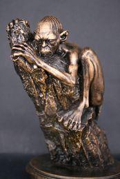 лорд кольца цифры Скидка Властелин колец Lotr статуя Голлум 100% ручной работы ремесло рисунок смолы 6