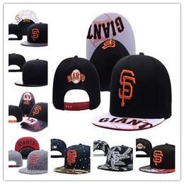Wholesale San Francisco Footballs - 2017 San Francisco Giants Snapback baseball team hat baseball cap Flat Caps Snapbacks football hat for man women