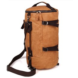 "Wholesale Leather Laptop 17 - Mens and Womens Genuine Leather Travel Hiking Bag Single Shoulder Bag 17"" Laptop Bag Vintage Style Light Brown Color 2003"