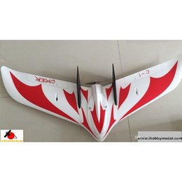 Wholesale Electric Airplane Kit - C-1 chaser FPV UAV flying wing RC airplane model KIT PNP 1200mm wingspan EPO foam model drones
