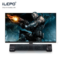 Wholesale Bt Sound Card - Bluetooth Sound Bar Speaker LP-09 Wireless Subwoofer BT Speakers Bass Stereo Hifi TF Card USB Radio With Mic SoundBar Boombox Hands Free