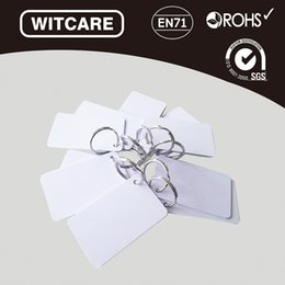 Wholesale Nfc Key - Wholesale- 10pcs lot RFID FM08 Blank NFC card thin pvc card 13.56MHz smart IC cards key card door entry systems*Free Shipping*