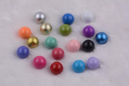 Wholesale Harmony Ball Charm Pendant Silver - 100pcs Eco-friendly Copper Harmony balls Sound Ball Multicolor 16mm Music Ball for Pendants Maternity Pregnancy Ball Charms 2017 July Style