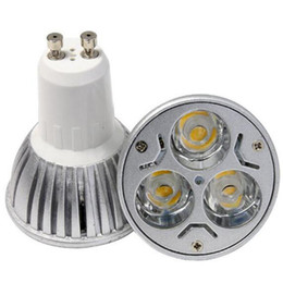 Wholesale Warm White Mr16 Halogen - High Power Cree Led Light Bulbs E27 B22 MR16 9W Dimmable E14 GU5.3 GU10 Led Spot lights led downlight lamps for replace Halogen lamp