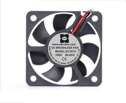 Wholesale Computers Equipment - New Original XDW 5105DC Fans 5V 0.5W 12038 50*50*10mm Cooling Fan for Computer Case, Network Cabinet, Industrial Equipment