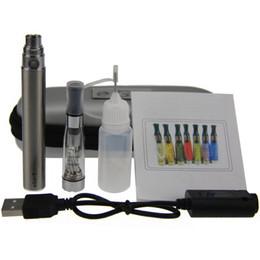 Wholesale Ecigarette Zipper Cases - eGo CE4 electronic cigarette starter kits Zipper Case package Single Kit 650mah 900mah 1100mah ecigarette DHL