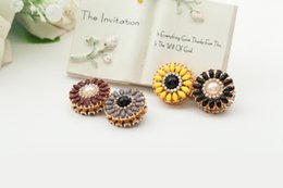 Wholesale China Wholesale Hijab - XT48 12pcs lot wholesale Double-faced new romantic magnet brooches alloy broches hijab accessories fashion Exquisite brooch for women