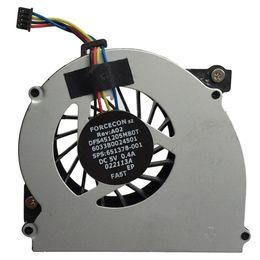 Argentina NUEVO ventilador de refrigeración original DFS451205MB0T FA5T 6033B0024501 651378-001 DC5V 0.4A para HP 2560P 2570P VENTILADOR PARA ENFRIAR CPU Suministro