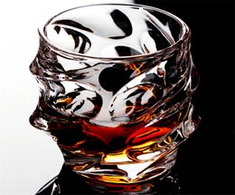 Wholesale Spoon Crystal - Wholesale- Time limited lead-free crystal wine cup whisky beer glass eco-friendly water glasses engraving gift for man panic buying