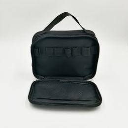Wholesale Electronics Organizer Bag - Youde style Mini Compact Storage Bag Doubel-deck Vape Pockets Organizer for Electronic Cigarette 1pc Free Shipping