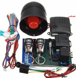 Wholesale Keyless Remote Control Toyota - New Car Central Lock Kit Auto Keyless Enter System Car Remote Control Output Transmitter Controllers Car Alarm System For Toyota