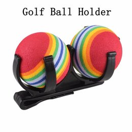 magic ball games Coupons - Wholesale- Golf Ball Holder Clip Magic Ball Games Putter Prop Organizer Golfer Golfing Sporting Training Tool Accessory Black