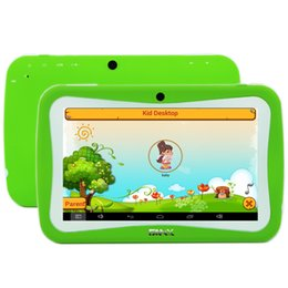Wholesale Quad Table - Table 7 inch Quad Core Kids Children Tablet PC 8GB RK3126 Android 5.1 MID Dual Cam & Educational Games App Birthday Gift