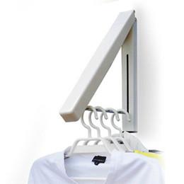 Lingerie en Ligne-Cintre Mini suspendu escamotable dissimulé intérieur magique Cintres en tissu pliables Nouveau support de serviette de preuve de l'eau de séchage 10wy F R