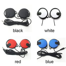 Wholesale Noise Cancelling Headphones For Telephone - Headphones 3.5mm Headset EarHook Earphone For Mp3 Player Computer Mobile Telephone Earphone Wholesale