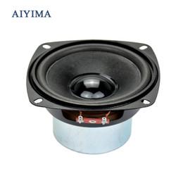 ом аудио Скидка Аудио сабвуфер динамик 4 дюйма 50 Вт 8 ом НЧ-динамик для средних частот бас компьютер динамик
