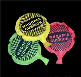Wholesale Funny Pad - Wholesale-3pcs funny Whoopee Cushion Jokes Gags Pranks Maker Trick Fun Toy Fart Pad Novelty Funny Gadgets Blague Tricky toy