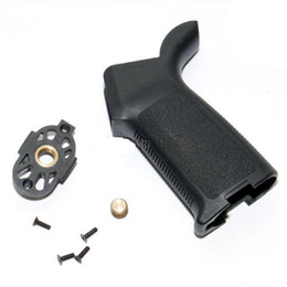 Wholesale M4 Ar15 - New arrival Tactical Marking Marked Version PTS Grip Black For AEG AR15 M4 Hunting