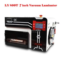 Wholesale Lcd Repair Machine Automatic - hot LY-899T Full Automatic LCD Laminating Machine for universal inch mobile phone screens repairing for sale