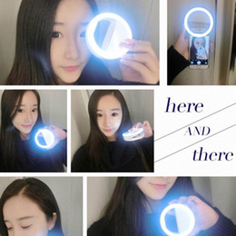 Wholesale Case Flash Light - LED Light case Phone Light Beauty Selfie Ring Flash Fill light for iPhone 5 6 6s plus 7 7 plus Samsung s6 s7