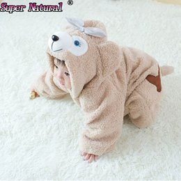Wholesale High Quality Bear Suits - Accessories Cosplay Costumes High Quality Winter Kids Cute Duffy Bear ShellieMay Onesies Pajamas Costumes Jumpsuits Baby Creeping Suit Pl...