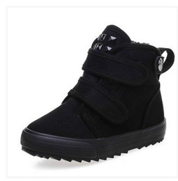 Wholesale Winter Proof - Russia winter Warm children Snow Boots girl and boy water-proof plush Boots outdoor Thickened baby cotton shoes kids sneakers