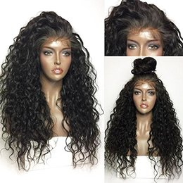 Wholesale 12inch Human Hair Wigs - 360 Lace Frontal Wig 180% Density Pre-Plucked Hairline 360 Lace Front Human Hair Wig Curly Hair Wig for Black Women 12inch 180% densit