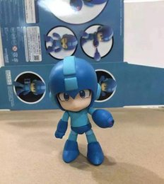 Wholesale Wholesale Kids Collectables - Rokeman Megaman 556 with box PVC Action Figure Collectable Model toy for kids gift 10cmfree shipping