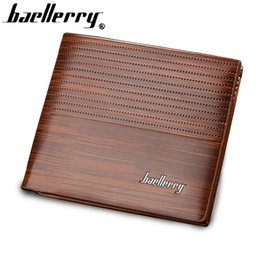 Wholesale Bill Money - Men Wallet Leather Vintage Purses High Quality Money Bag Credit Card holders New Dollar Bill Wallet wholesale price !