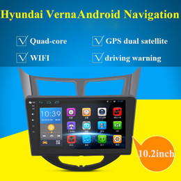 Wholesale Dvd For Hyundai Verna - 10.2 inch Car PC Android Car DVD Player with AM FM,BT GPS, support DVR,OBD2,back up camera,CANBUS,Car Audio Radio stereo for Hyundai Verna