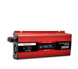 2000W / 2KW Модифицированный инвертор синусоидальной инверторной мощности 12V для AC 220V для электронных от