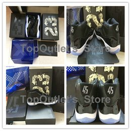 Wholesale Mens Shoes Dhl - 2016 New retro 11 Space Jam women and Mens Basketball Shoes high quality space Jams size 36-47 with original box ship by DHL
