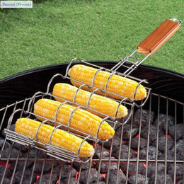 Wholesale Grilling Baskets - Wholesale- Sweettreats BARBECUE CORN GRILL BASKET